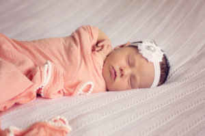 Baby Benefiting from Baby Sleep Training   The Peaceful Sleeper