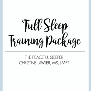 Full Sleep Training Package | The Peaceful Sleeper