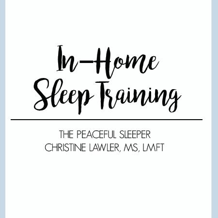 In-Home Sleep Training   The Peaceful Sleeper