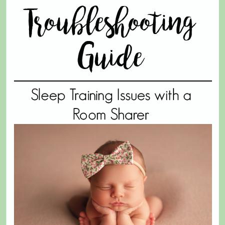 Sleep Training Issues with a Room Sharer | The Peaceful Sleeper