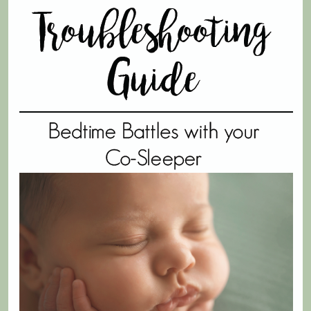 bedtime battles with cosleeper | The Peaceful Sleeper
